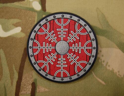 Viking Shield PVC Morale Patch PVC Patch MoeGuns Vegvisir Loki
