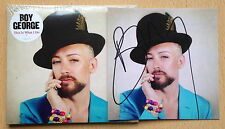 This Is What I Do, Boy George CD Album ( HAND SIGNED art Print  )