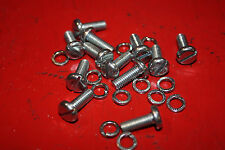 12 off SU CARB (HIF) float lid screws for Mini, MGB, Sprite,Jaguar,Rover,Triumph
