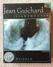 NEW SEALED 500 Piece Jigsaw Puzzle - Jean Guichard Lighthouses of Europe series