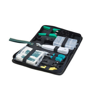 Internet-Network-Cable-Tool-Kit-Inc-Carry-Case-8-Pieces-Cabling-Crimper-Tester