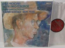 15 BB 218-220 Prokofiev The Five Piano Concertos Vladimir Ashkenzy LSO Previn