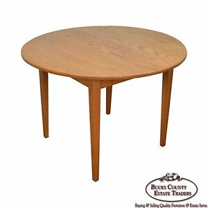 image is loading hunt country furniture solid oak round dining table - Oak Round Dining Table