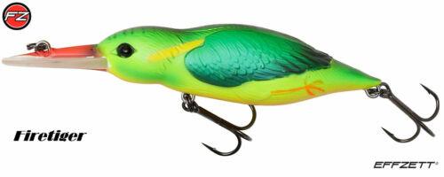 DAM Effzett Eisvogel Kingfisher 11cm 14,5cm 28g 35g Wobbler