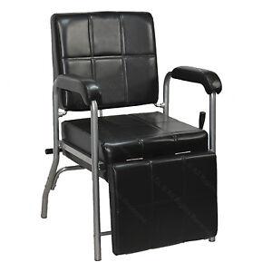Reclining Shampoo Chair With Adjustable Leg Rest Barber Beauty Salon Equipment Ebay