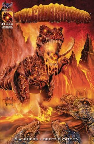 Volcanosaurus #1 Main Cover STOCK PHOTO American Mythology 2019