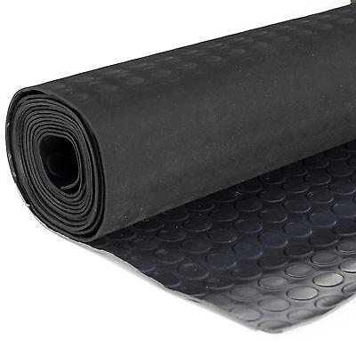 Noppenmatte Flachnoppenmatte Antirutschmatte Gummimatten Bodenbelag 125 cm breit