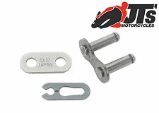 """520 RJ DID Clip Link Cliplink 5/8 x 1/4"""" Motorcycle Chain Joining Split Link"""