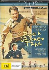 RIDE A CROOKED TRAIL - AUDIE MURPHY - NEW & SEALED R4 DVD FREE LOCAL POST