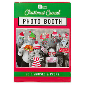 Diy Photo Booth 30 Selfie Disguises Props Frame Christmas Crowd
