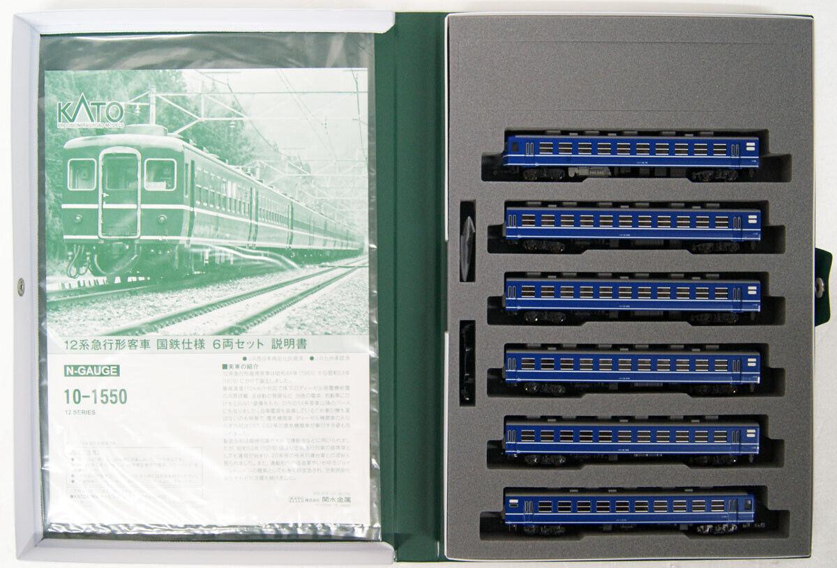 Kato 10-1550 Series 12 Passagerarbil Express Train Type JNR Ver.6 Bil N skala