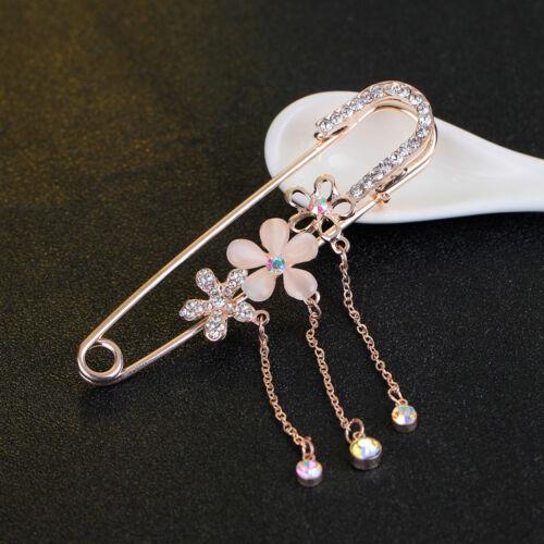 Boda De Oro//Plata Diamante Pin Broche Bufanda Traje Abrigo Camisa Gato Imperdibles