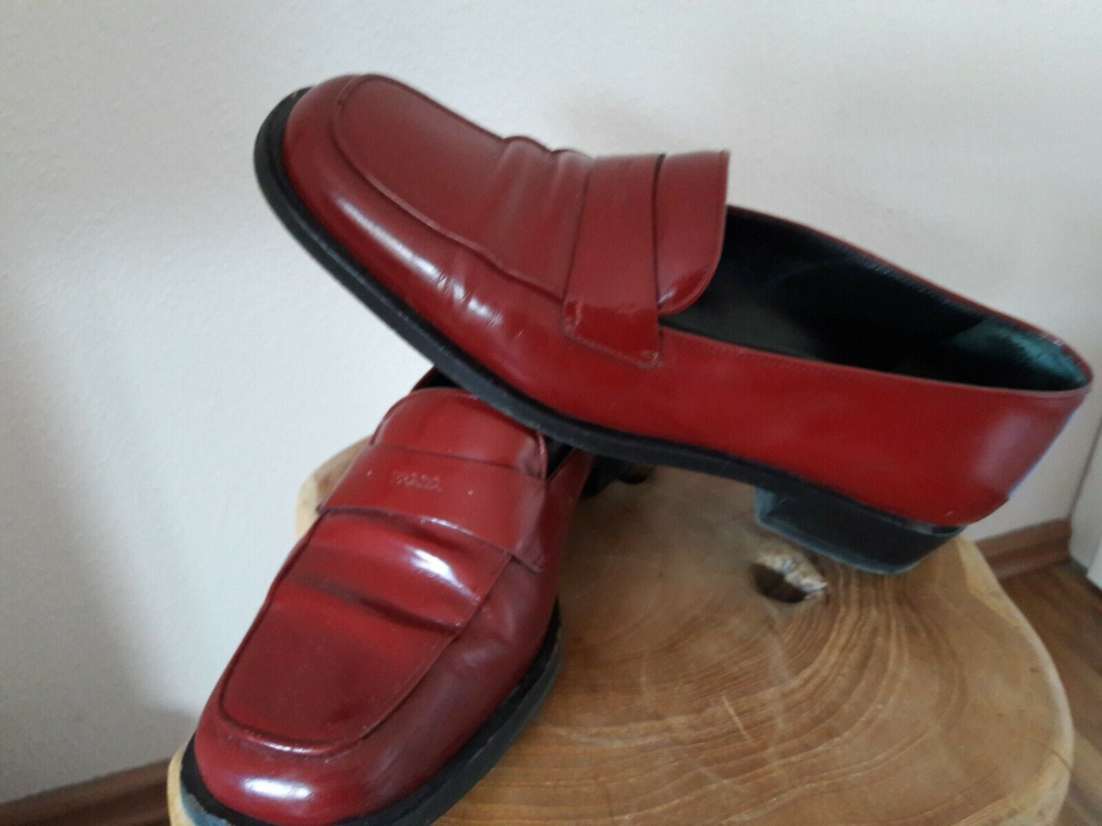 Prada Damen Slipper in weinrot  Gr.37,5 Top Zustand