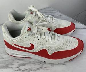 Cuota de admisión acortar Endurecer  Para mujer Talla 7.5 Nike Air Max 1 Ultra Moire Calzado para Correr Rojo  Blanco 704995-102 | eBay