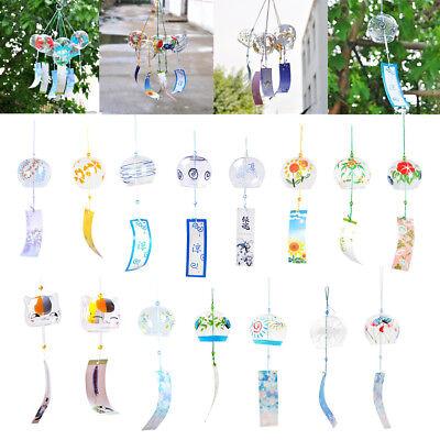 Giappone tradizionale Wind Chime vetro vento campana Estate di Windows
