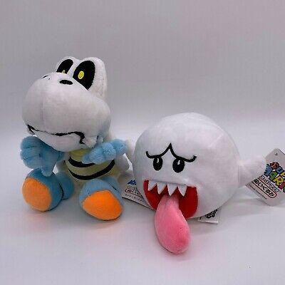 "Brothers Plush Toys Dolls Stuffed Animals 7/"" Dry Bones Bad Super Mario Bros"