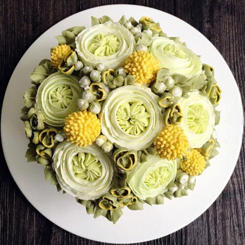 3Pcs Austin Rose Petals Icing Piping Nozzles Cake Decorating Tool Cream Tips LQ