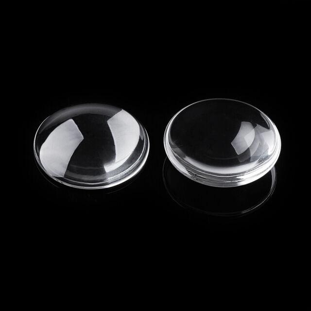6 Domed Square Glass Tile Cabochons 15mm Clear Flatbacks Flat Back