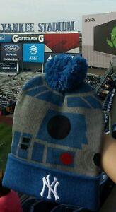 922e373717 2016 NY Yankees SGA Star Wars Night R2-D2 Winter Knit Hat on Hand ...
