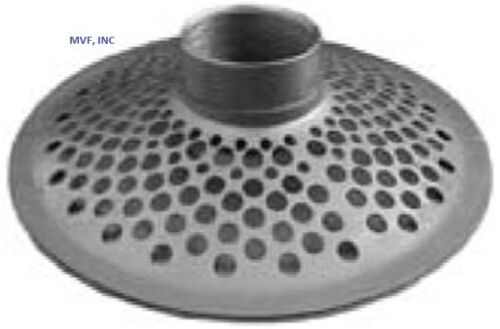 """SKIMMER STRAINER ROUND HOLE TOP 1-1//2/"""" FNPT PLATED STEEL SUCTION HOSE SK20TH"""