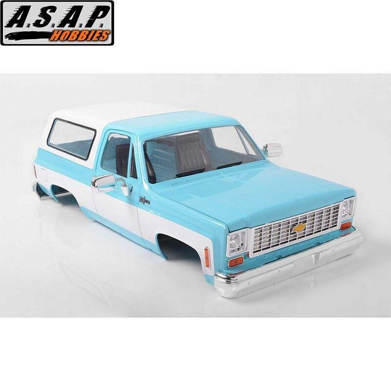 RC4WD Z-B0148 Chevrolet  Blazer Hard corpo completare Set Light blu  prezzi all'ingrosso