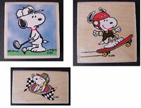 Peanuts Snoopy Rubber Stamps - Choose From 10 Different Designs Free Shipping