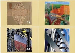 GB POSTCARDS PHQ CARDS MINT SET 1999 WORKERS' TALE FULL SET PACK 207