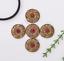 10X-Western-3D-Flower-Turquoise-Conchos-For-Leather-Craft-Bag-Belt-Purse-Decor miniature 5