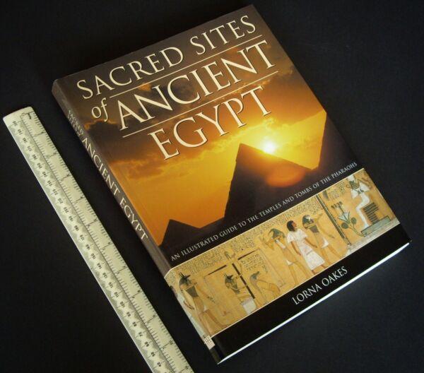 2007 Sitios Sacret Del Antiguo Egipto. Magníficamente Ilustradas Egyptology Referencia-ver