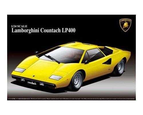 Aoshima 1/24 Lamborghini Countach Lp400  046708