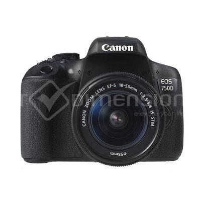 Canon EOS 750D +EF-S 18-55mm f/3.5-5.6 IS STM Kit (Multi) Stock in EU garant