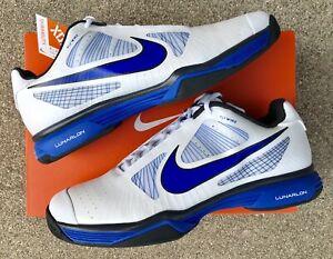 100e1161f42b NWT Nike Tennis LUNAR VAPOR 8 TOUR Tennis Shoes! BLUE WHT! 9.5 ...