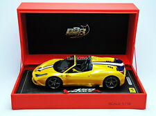 BBR 2014 Ferrari 458 Speciale A  Paris Show 2014 Yellow LE of 248 1/18 New!