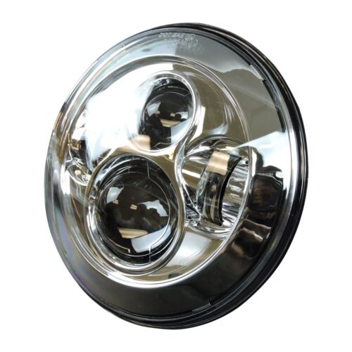 """7/"""" Projector Daymaker Headlight Passing Lights Mount Ring For Harley Touring Chr"""