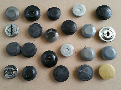 COVERS Threaded NOS LOT OF 10pcs Bicycle crank DUST CAP