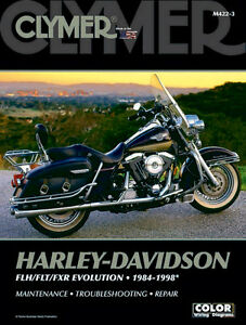 Details about HARLEY DAVIDSON REPAIR MANUAL 84-98 FLH/FLT/FXR EV on