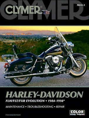 Clymer Repair Manuals for Harley-Davidson Electra-Glide Classic FLHTC//I 2006-2009