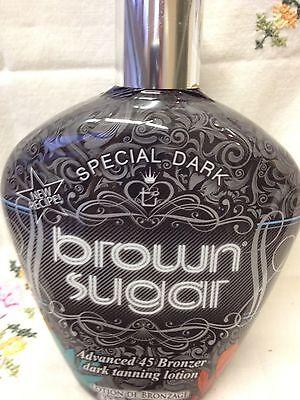 Tan Inc Special Dark Brown Sugar 45x Bronzer Indoor Tanning Bed Tan Lotion