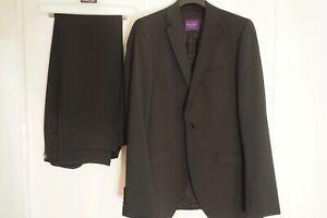 Benvenuto Purple Umberto Super Slim Fit 20949-61663 Herren Anzug Weste