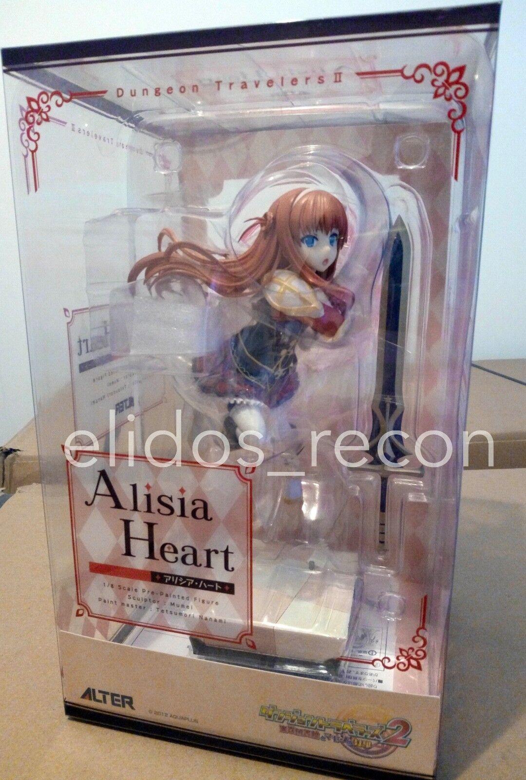 Dungeon Travelers 2 Alisia Heart  1 8 Alter statue PVC