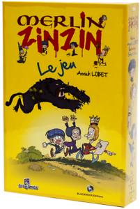 Annick Lobet Blackrcok editions Jeu de société Merlin Zinzin Fragames