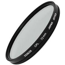 72mm CPL Circular Polarizer Filter for Nikon 18-200mm Canon 28-135mm Olympus