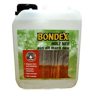 6-40-L-Bondex-Holz-NEU-aus-alt-mach-neu-2-5L-Reiniger-Auffrischer-Entgrauer