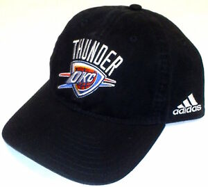 5ccf4f0d56d8f Image is loading Adidas-Oklahoma-City-Thunder-Cap-Adjustable-Slouch-Style-