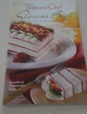 THE PAMPERED  CHEF  SEASONS  BEST  RECIPE COLLECTION  STRAWBERRY CHEESECAKE TORT