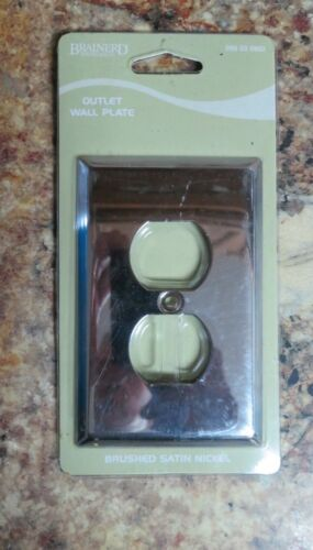 Brainerd Outlet Wal Plate Brushed Satin Nickel 085030802 Free Shipping