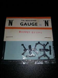 N GAUGE S N MOULDINGS BUFFER STOPS Model RAILWAY UNOPENED PACK