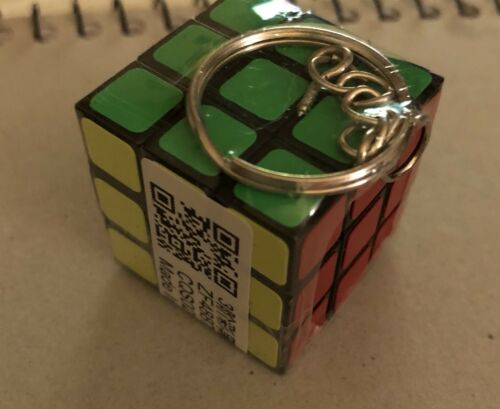 US SELLER! Magic Cube mini Keychain! Perfect Stocking Stuffer!!