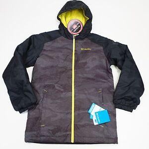 $105 Columbia Youth Snowpocalyptic Jacket Large Black NEW Style WB1447-010