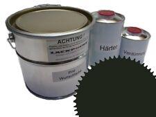 3 Litres Set 2K Revêtement de sol RAL 6007 Vert Glanz Peinture Atelier neu